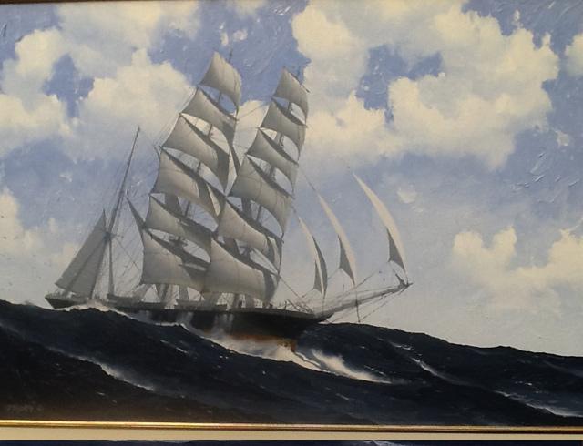 Bougainville Oil 81 / 64 cm
