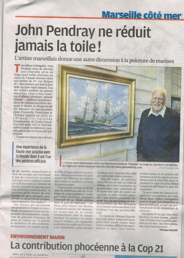 John pendray dans la Provence